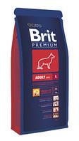 Brit Premium Adult Large 8кг-корм для собак крупных пород