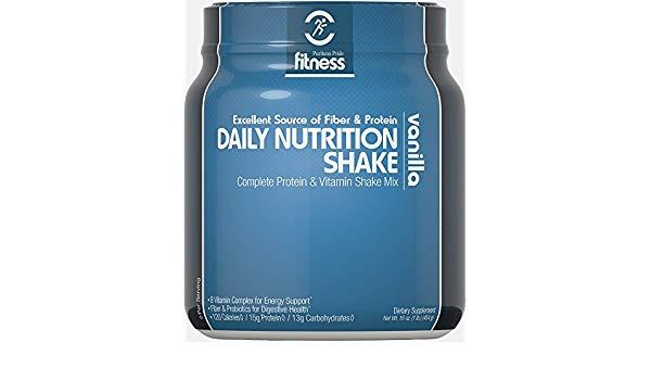 Puritan's Pride Fitness Daily Nutrition Shake Vanilla