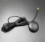 Антенна GPS Глонасс для автомагнитол 2 Din с навигацией Anroid Windows CE Разъем SMA резьба внутри, фото 2