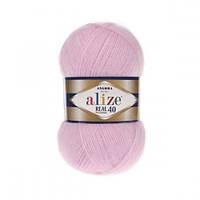 Пряжа для вязания Alize Angora Real 40 , цвет 185 ,40% шерсть, 60% акрил