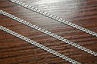 Серебряная цепочка - плетения Нонна