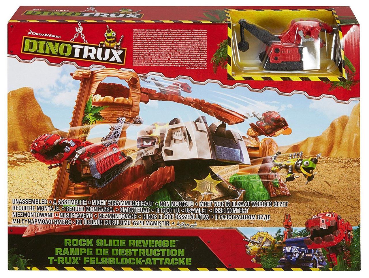 Игровой набор MATTEL HW Dinotrux Приключения в каньоне   DWC84