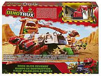Игровой набор MATTEL HW Dinotrux Приключения в каньоне   DWC84, фото 1
