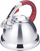 Кухонный чайник со свистком Benson BN-710 3 л нержавеющая сталь