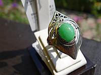 Кольцо серебряное с агатом, фото 1