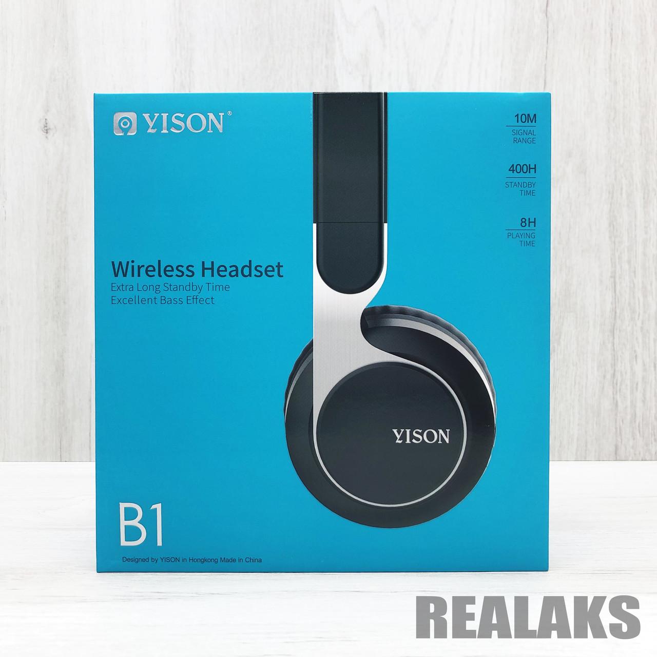 Беспроводные Наушники YISON B1 (Black)