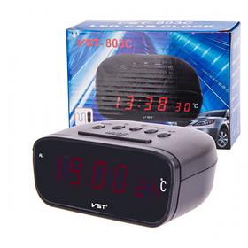 Часы электронные 803C-1 красный
