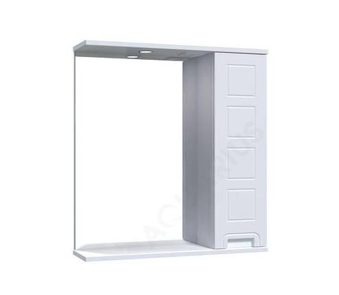 Зеркало Аквариус Cимфония со шкафчиком и подсветкой 65 см, фото 2