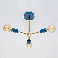 Потолочный светильник LVD Lars Синий