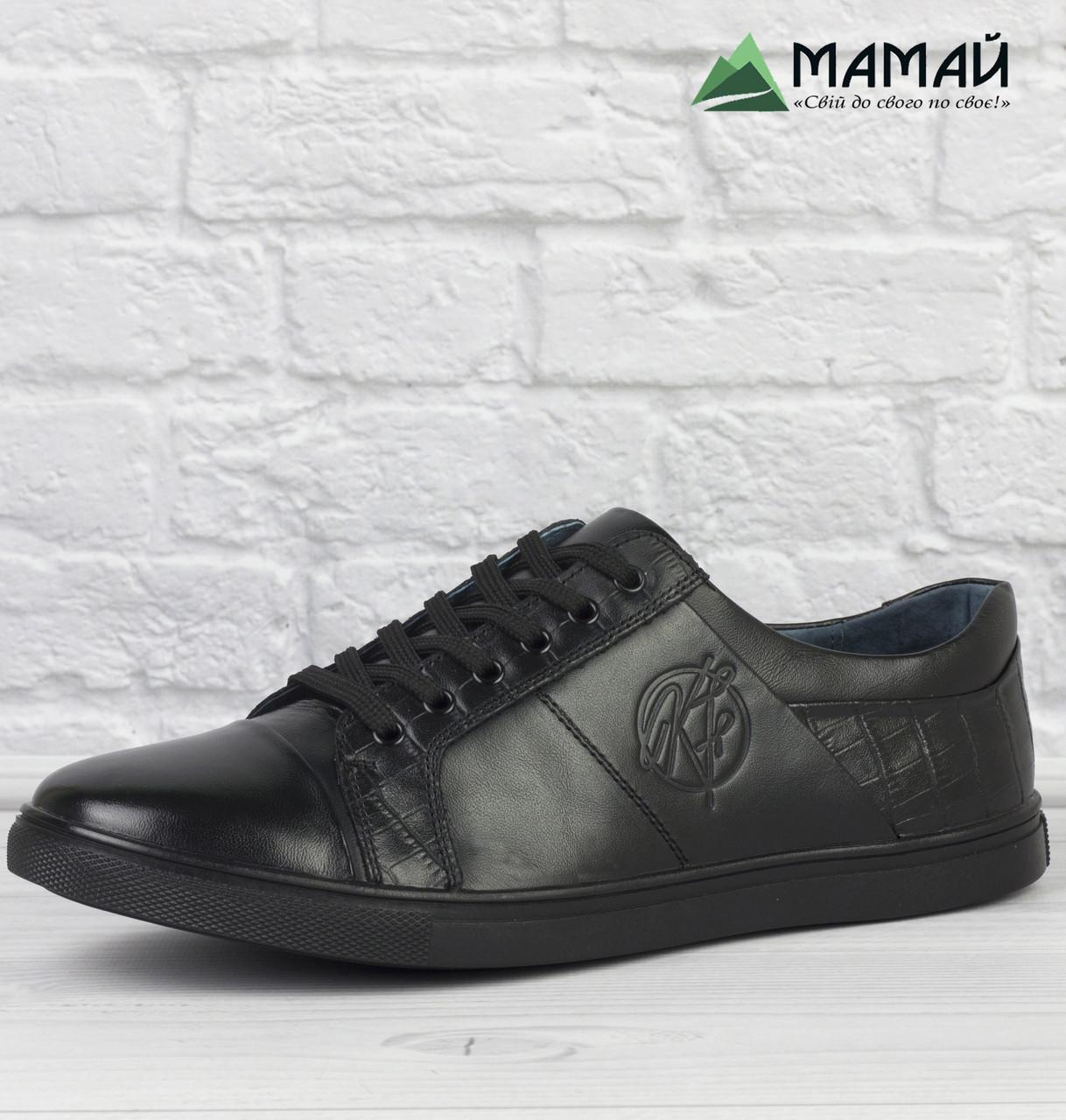 Шкіряні чоловічі туфлі 40р