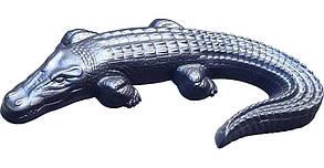 """Форма для садового декора """"Крокодил"""" (для бетона)"""