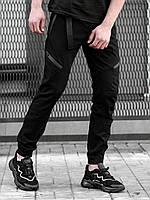 Брюки джоггеры BeZeT Techwear черные, фото 1