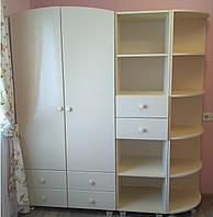 Модульный набор в детскую комнату (шкаф, пенал, угол)