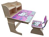 АКЦИЯ за комплект детский школьная парта-стол растишка