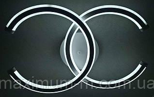 Люстра потолочная Led (10х31х47 см.) Белый матовый YR-2014/2-wh-2color
