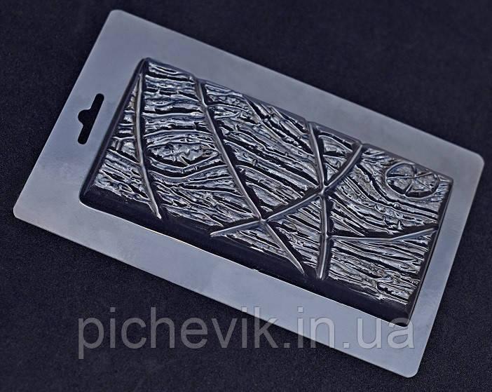 """Пластикова форма E1-041 """"Шоколад - """"Дерево"""" (розмір форми 115*180мм)"""
