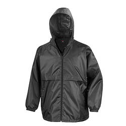 Мужская куртка ветровка черная R204-36