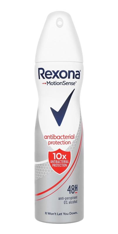 Антибактеріальний жіночий аерозольний дезодорант Rexona Antibacterial Protection 150 мл.