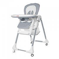 Дитячий Стільчик для годування CARRELLO Toffee CRL-9502/2 Cloud Grey