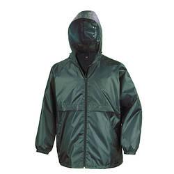 Мужская куртка ветровка темно-зеленая R204-38