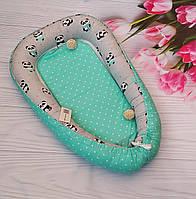 2в1 подушка для беременных - Кокон позиционер для новорожденного гнездышко Беби нест