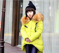 Зимнее пальто-пуховик на девочку Д 0962-И