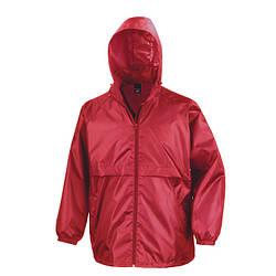 Мужская куртка ветровка красная R204-40