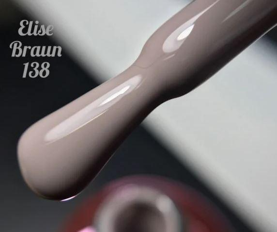 Гель-лак Elise Braun 15 мл, № 138
