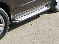 """Пороги боковые """"Saphire"""" V1 Toyota Highlander (2007-...)"""