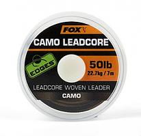 Ледкор з Сердечником Fox Edges Camo Leadcore 50lb x 25m