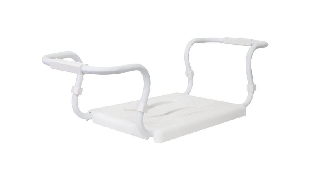 Сиденье для ванны (металл, пластик)