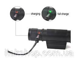 Налобный фонарь Boruit D20 XM-L2 Zoom фонарик Оригинал, фото 3