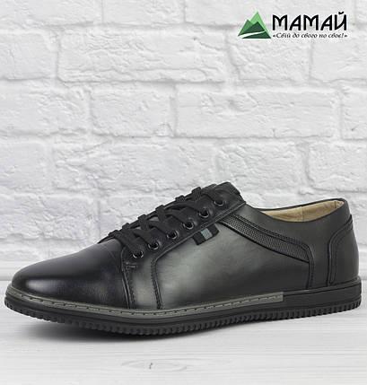 Чоловічі кросівки з Натуральної шкіри 40р, фото 2