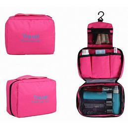 Органайзер дорожній сумочка для косметики Mindo Travel your life Рожевий (biz_0003)