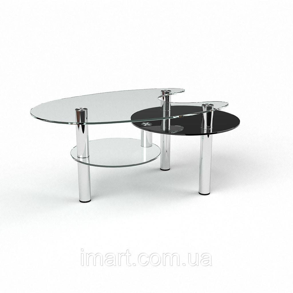 Журнальный стол Рино стеклянный