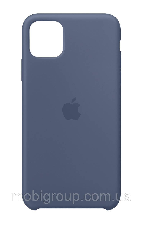 Чехол Silicone Case для iPhone 11, Blue