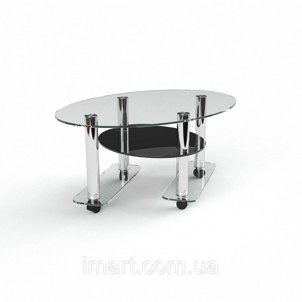 Журнальный стол Ронто стеклянный