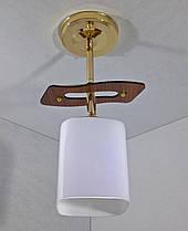 Люстра потолочная на 1 лампочку (31х10х18 см.) Хром или золото YR-6032/1-gd