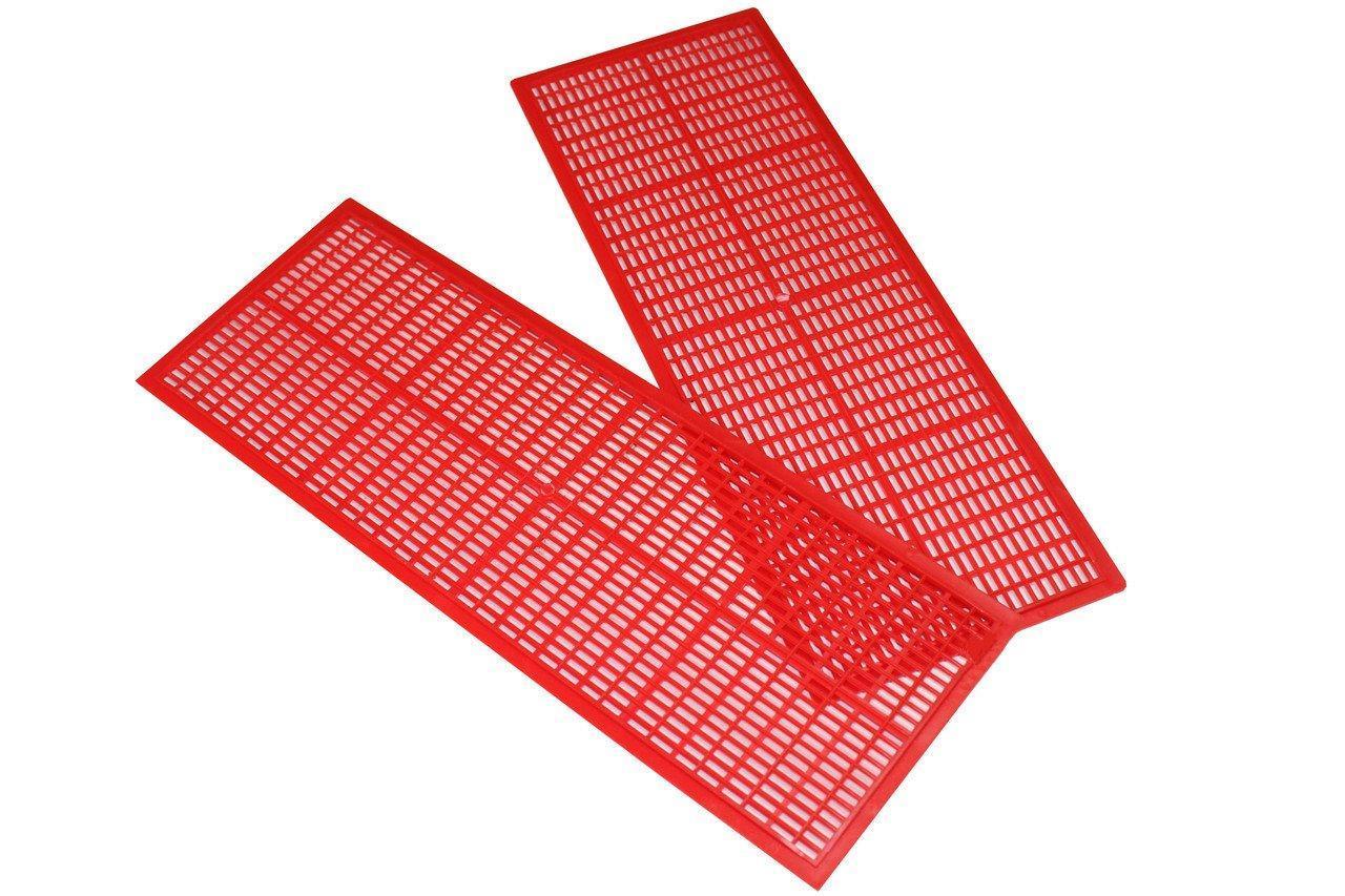 Решетка донного Пыльцесборника (сетка для отделения пыльцы) 403х148 мм. Лысонь Польша