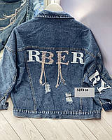 Женская джинсовая куртка 5273 со, фото 1