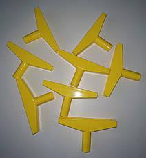 Держатель рам HL Display, Т держатель (желтый), фото 3