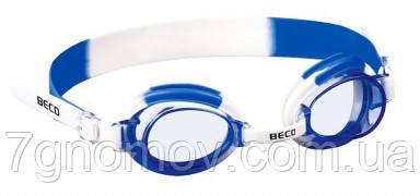 Очки для плавания BECO детские 9901 16 (бело-голубые), фото 2