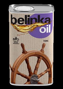 Тунговое масло для дерева для наружных работ (для террас и садовой мебели) BELINKA Oil Tung, 0,5л