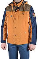Куртка мужская демисезон Hestovrviio 2212 (XL (44), темно син.с гор.)