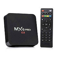 MXQ PRO 4K 1/8GB Quad Smart TV (смарт тв) Android приставка, фото 1