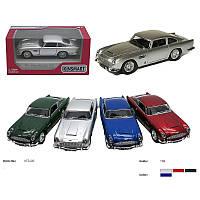 """Машина коллекционная Модель легковая 5"""" KT5406W Aston Martin Vulcan метал.инерц.откр.дв.4цв.кор./96/ *"""