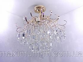 Люстра потолочная хрустальная (60х57х57 см.) Золото YR-90040/6