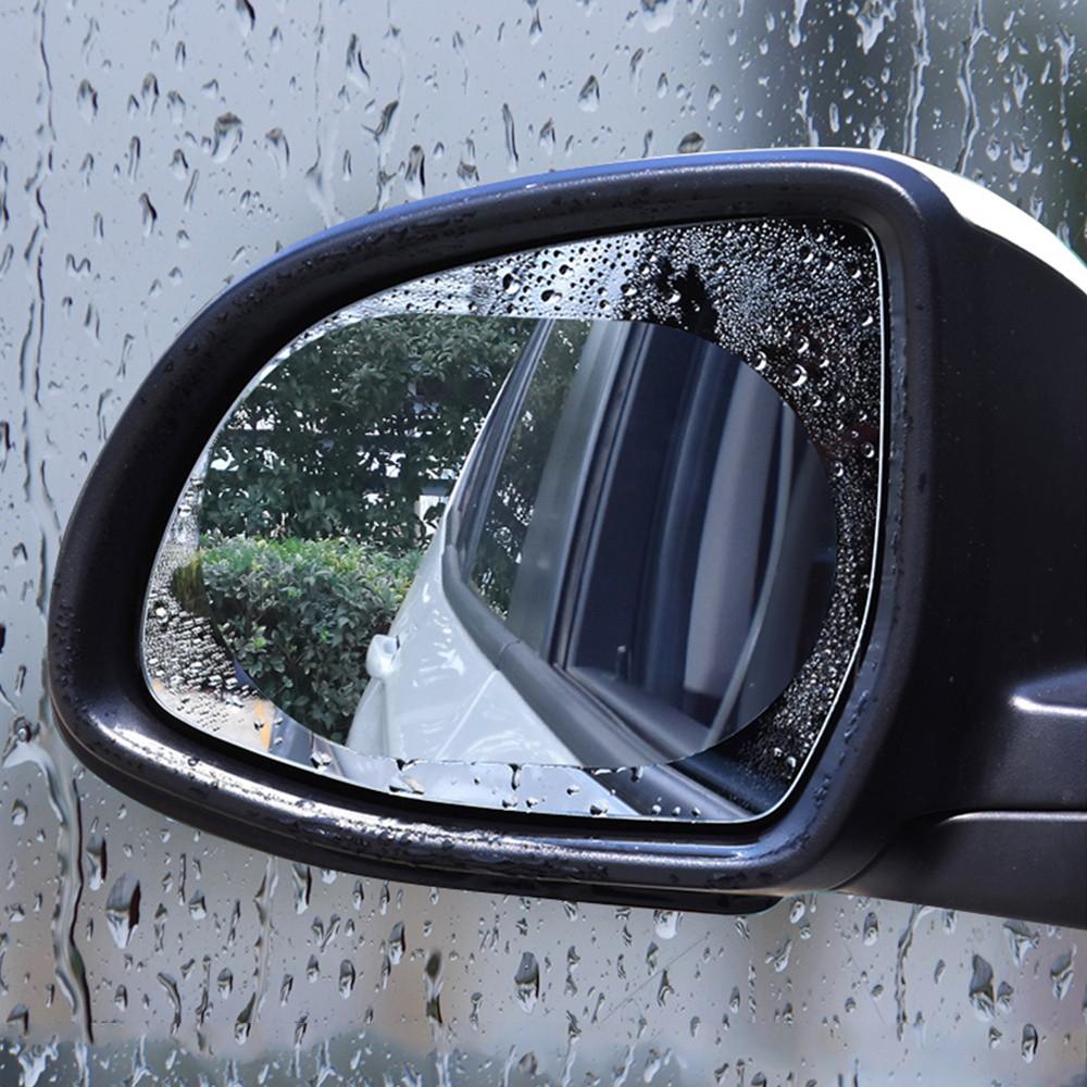 Пленка Антидождь для Боковых Зеркал Защитная (BY-631) Овальная 150*100мм