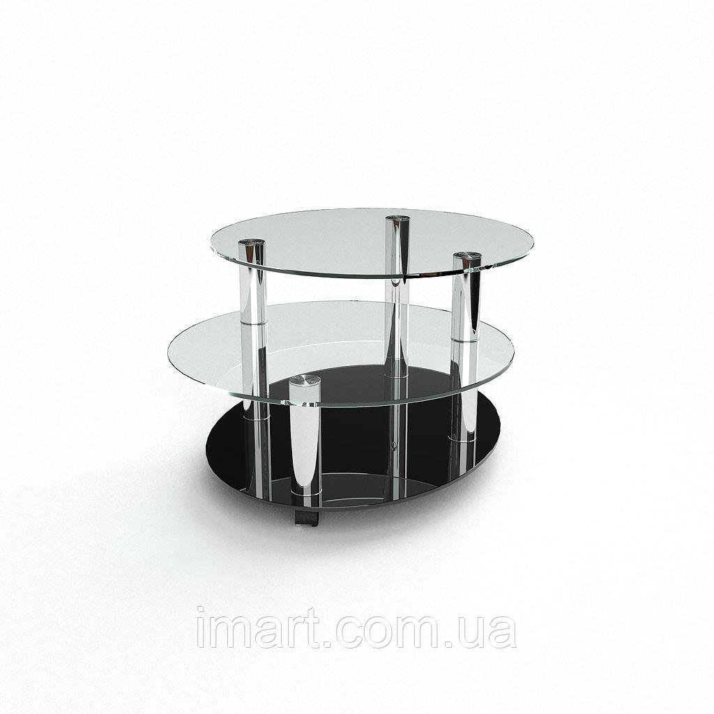 Журнальный стол Санни стеклянный