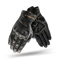 Shima Aviator Gloves Black, S Мотоперчатки шкіряні з захистом, фото 1
